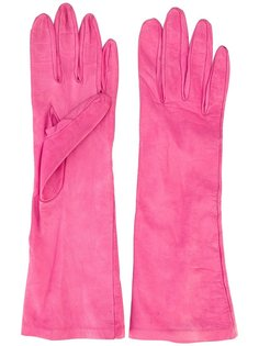 перчатки средней длины  Yves Saint Laurent Vintage