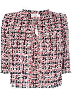 укороченный твидовый пиджак  Sonia Rykiel