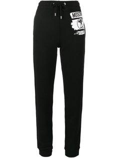 спортивные брюки с вопросительным знаком  Moschino