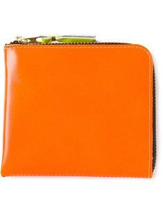двухцветный кошелёк на молнии Comme Des Garçons Wallet