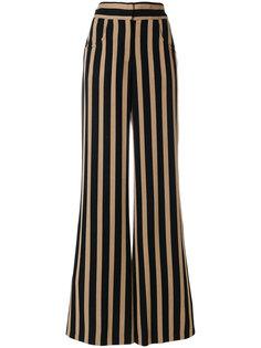 расклешенные брюки в полоску  Etro