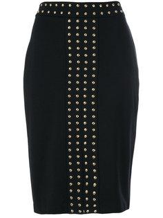 юбка с металлическими заклепками  Michael Michael Kors