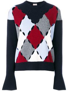 свитер с принтом ромбов MRZ