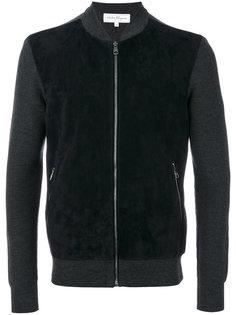 свитер на молнии в стиле бомбера Salvatore Ferragamo