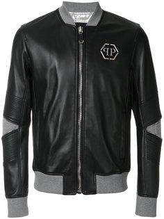 кожаная куртка-бомбер Mei  Philipp Plein