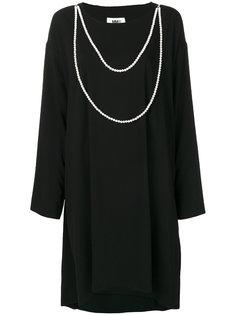 свободное платье с драпировкой  Mm6 Maison Margiela
