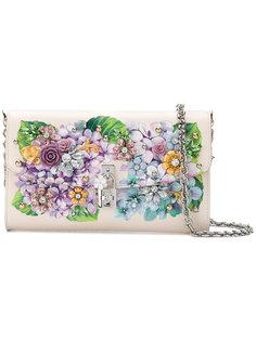 сумка на плечо с цветочным украшением Dolce  Dolce & Gabbana