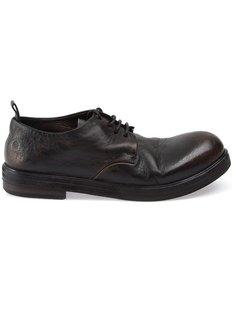 туфли-дерби с винтажным эффектом Marsèll