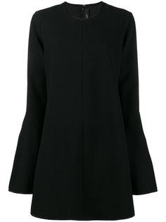 платье мини с рукавами клеш  Ellery