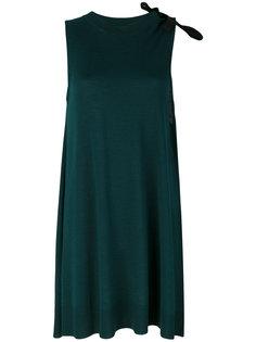 трикотажное платье-туника Mm6 Maison Margiela