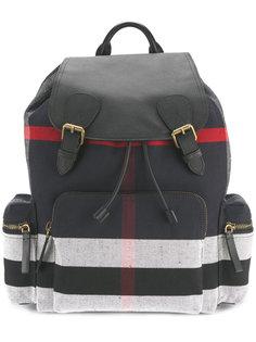 рюкзак с полосатыми панелями Burberry