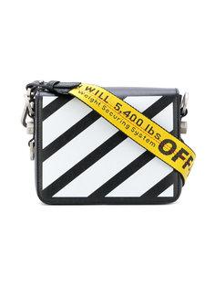сумка в диагональную полоску Off-White