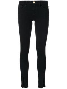 джинсы с разрезами спереди Frame Denim