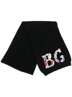 декорированный шарф Blugirl
