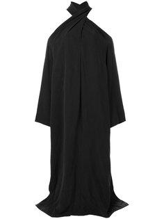 длинное платье с лямками крест-накрест Lost & Found Rooms