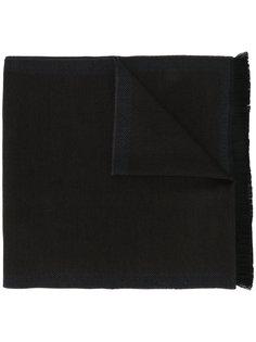 шарф с узором елочкой по краю Corneliani