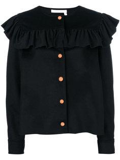 куртка с оборкой  See By Chloé