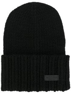 шапка в рубчик Dsquared2
