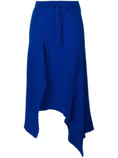 асимметричная юбка с драпировкой  Marquesalmeida