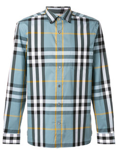 клетчатая рубашка Burberry