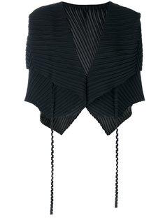 плиссированная блузка  Issey Miyake