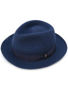 narrow brim hat Borsalino