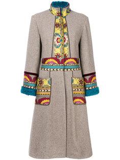 пальто-кардиган с вышивкой  Etro