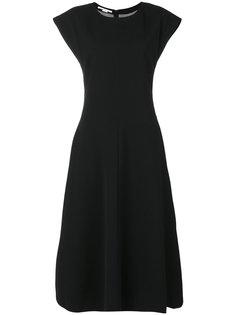 расклешенное платье миди  Stella McCartney