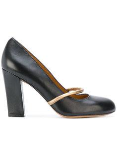 туфли с контрастными панелями Chie Mihara