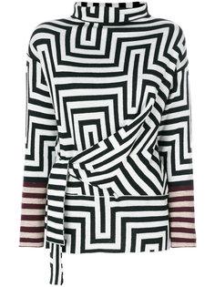 полосатый свитер Etro