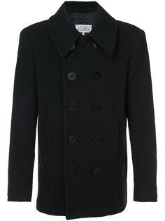 классическое приталенное пальто Maison Margiela