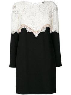платье с вышивкой  Twin-Set