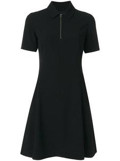 приталенное расклешенное платье-поло Kenzo