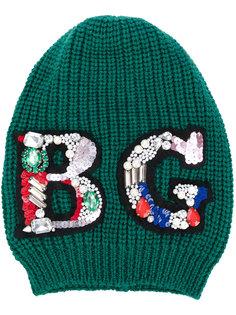декорированная шапка Blugirl