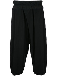 cropped drop-crotch trousers Julius
