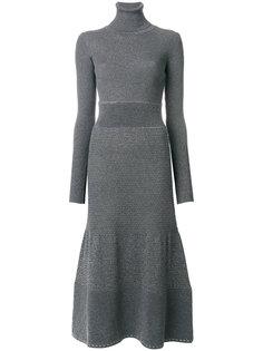 расклешенное платье миди Agnona