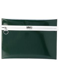 плоский клатч с логотипом Mm6 Maison Margiela