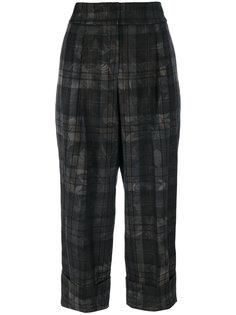 укороченные широкие брюки Antonio Marras