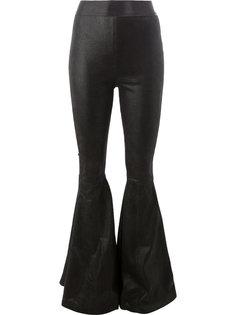панельные расклешенные брюки Faith Connexion