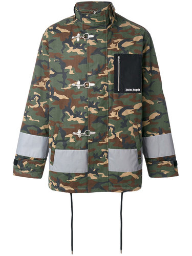 куртка с камуфляжным принтом Palm Angels