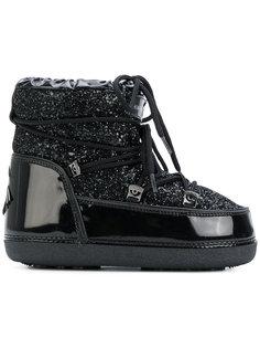зимние ботинки с блестящими панелями Chiara Ferragni