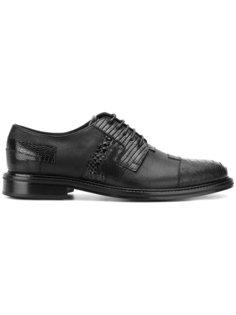 броги на шнуровке Versace