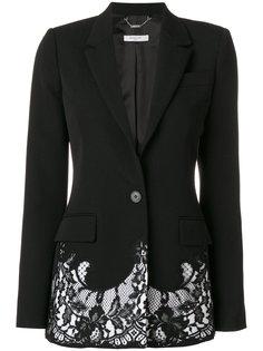 блейзер с кружевной оторочкой Givenchy
