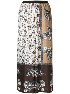 широкие брюки с цветочным принтом  Antonio Marras