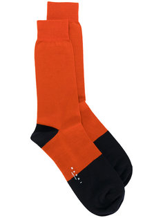 "носки по щиколотку дизайна ""колор-блок"" Marni"