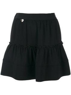 плиссированная мини юбка Twin-Set