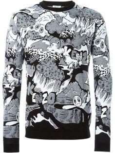 свитер Cartoon Kenzo