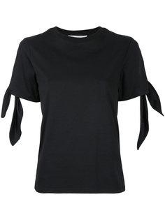 футболка с завязками на рукавах Le Ciel Bleu