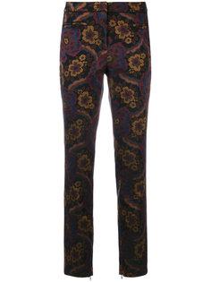 брюки с цветочным узором Cambio