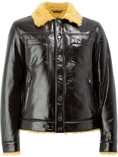 куртка на овчине на пуговицах Drome